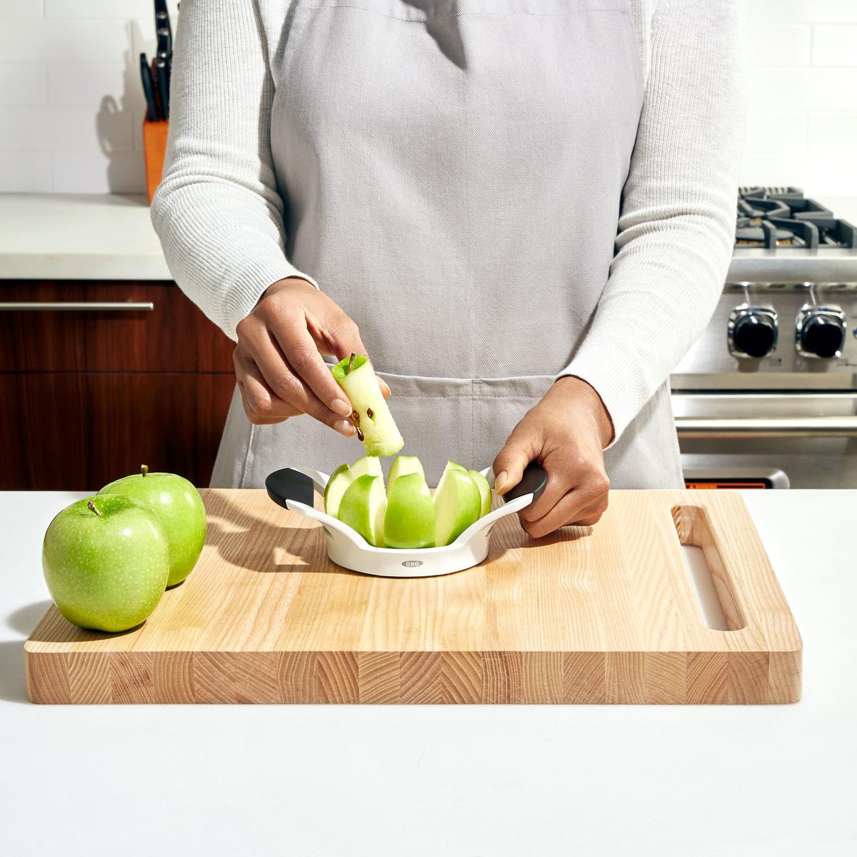 Нож для яблок OXO FRUIT & VEGETABLES, 11х6х22 см, белый OXO 32681 фото 3
