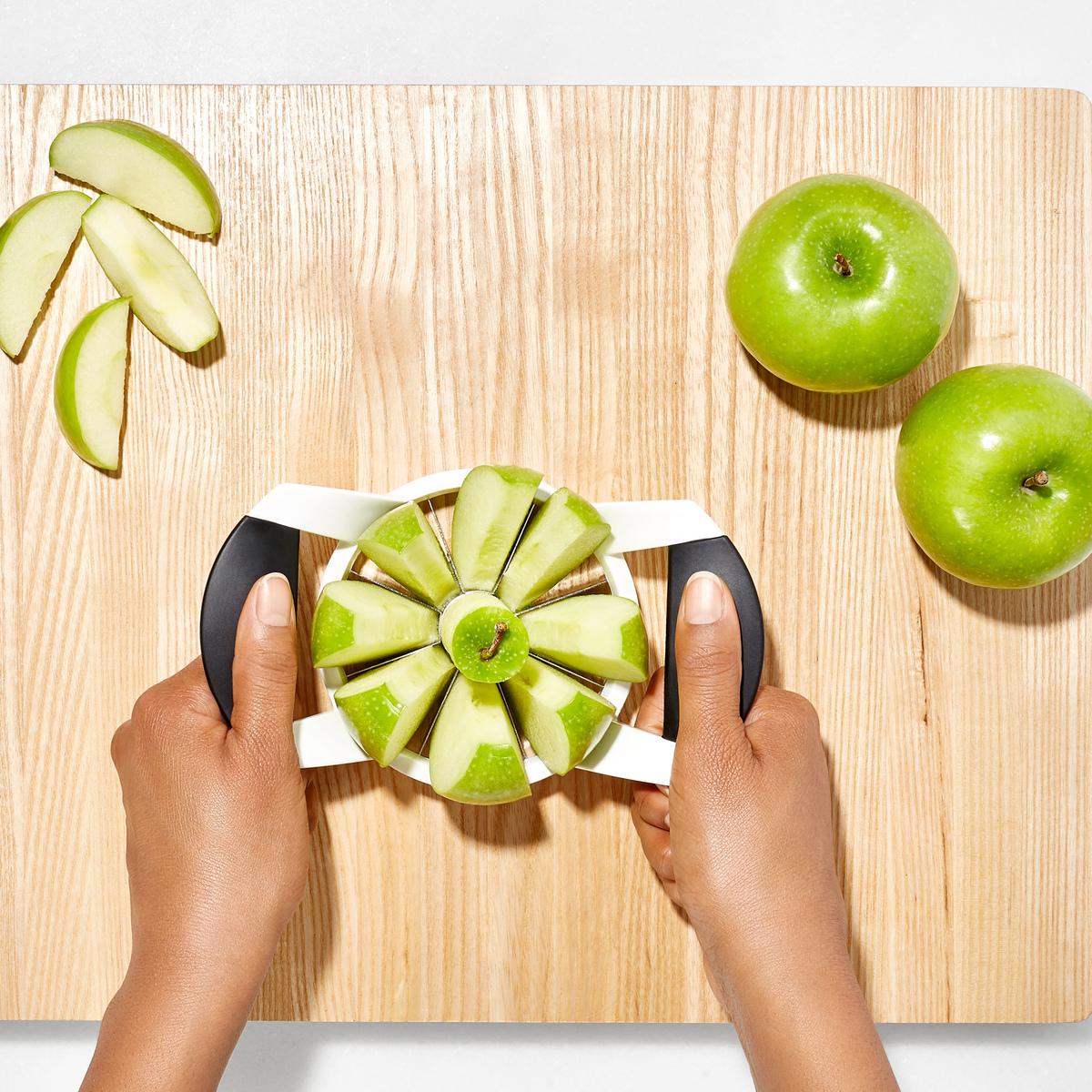 Нож для яблок OXO FRUIT & VEGETABLES, 11х6х22 см, белый OXO 32681 фото 5
