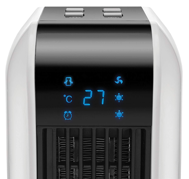 Обогреватель керамический со светодиодным дисплеем и таймером Unold, 17,5x17,9x43 см, белый Unold 86430 фото 3