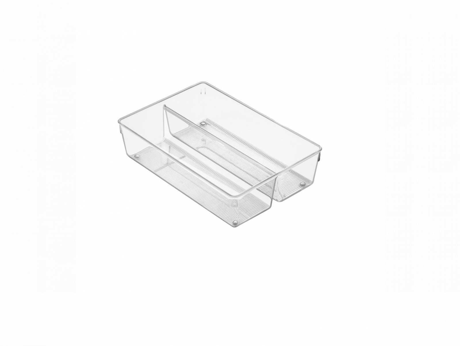 Онлайн каталог PROMENU: Органайзер для кухонных принадлежностей iDesign LINUS, 30,5х20,3х7,6 см, BPA-free пластик, прозрачный                                   56130EU