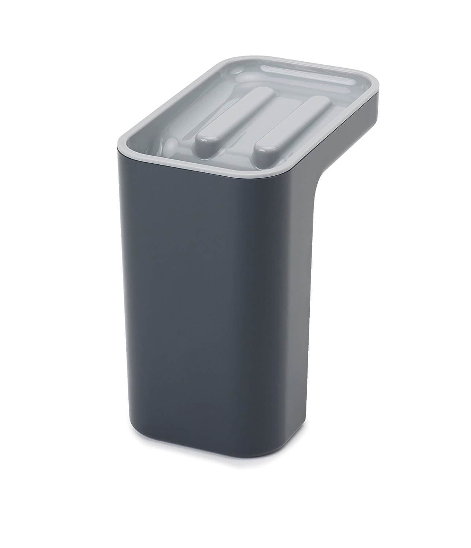 Онлайн каталог PROMENU: Органайзер для мойки со сливом лишней жидкости Joseph Joseph CLEANING AND ORGANISATION, 24,5x9,4x9,1 см, серый                               85125