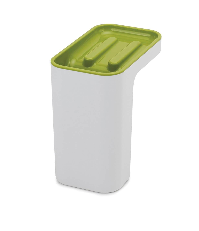 Онлайн каталог PROMENU: Органайзер для мойки со сливом лишней жидкости Joseph Joseph CLEANING AND ORGANISATION, 24,5x9,4x9,1 см, зеленый                               85126