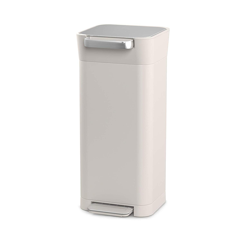 Онлайн каталог PROMENU: Органайзер для мусора Joseph Joseph INTELLEGENT WASTE, 30,2х34,4х68,4 см, объем 20 л, бежевый  30039