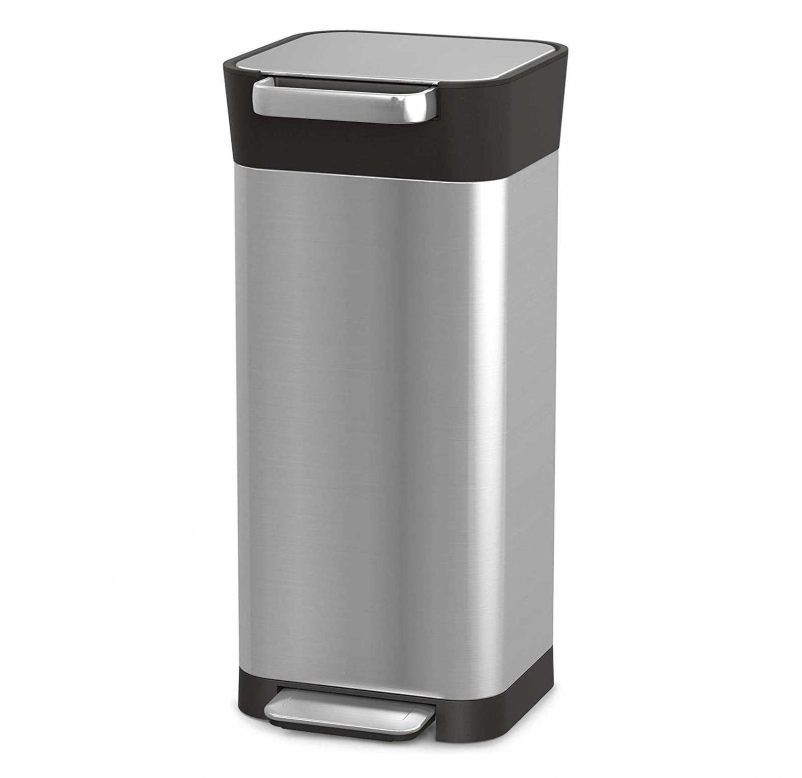 Онлайн каталог PROMENU: Органайзер для мусора Joseph Joseph INTELLEGENT WASTE, 30,2х34,4 см, объем 20 л, серебристый Joseph Joseph 30037