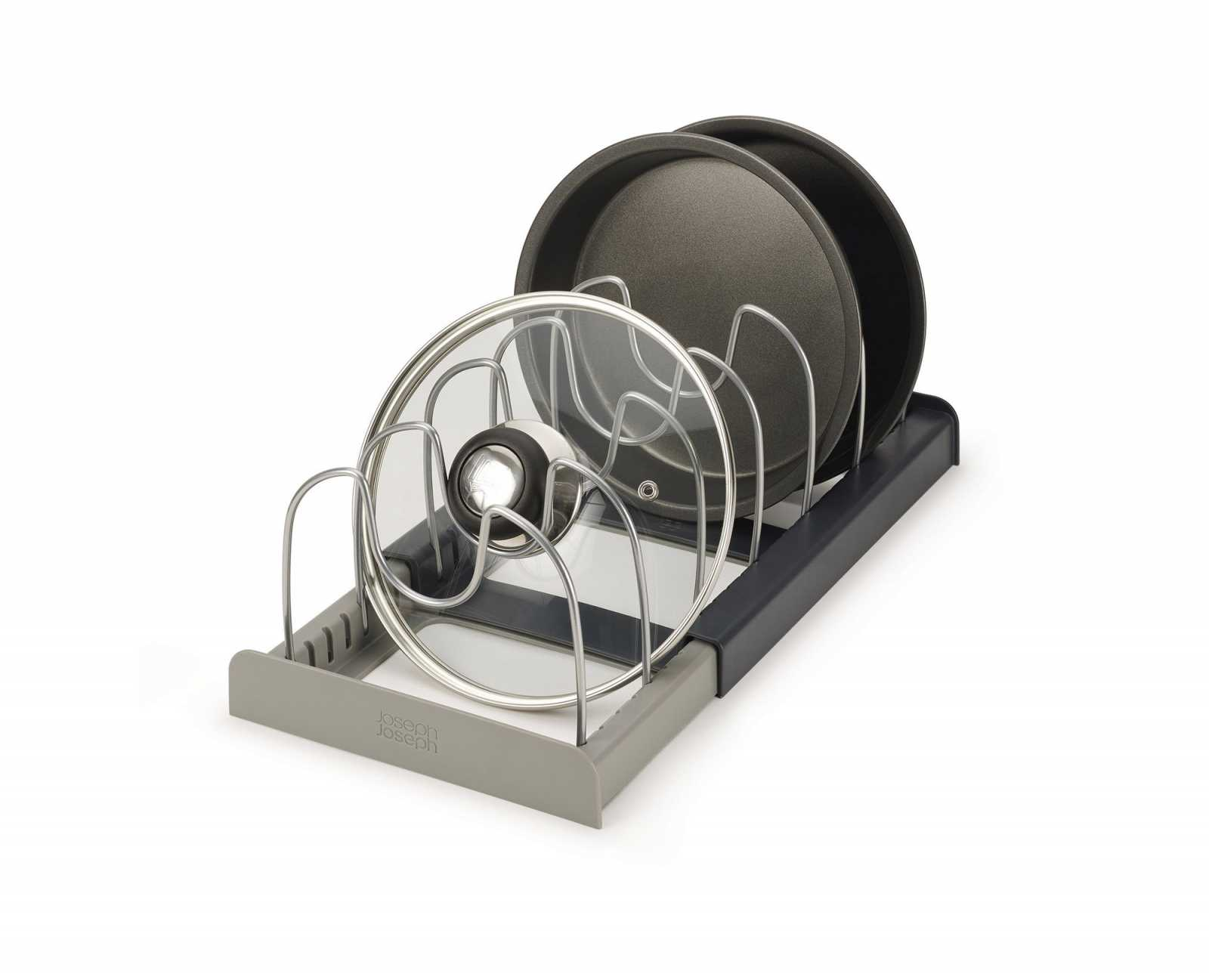 Онлайн каталог PROMENU: Органайзер для сушки посуды раскладной Joseph Joseph DRAWERSTORE, серый Joseph Joseph 85167