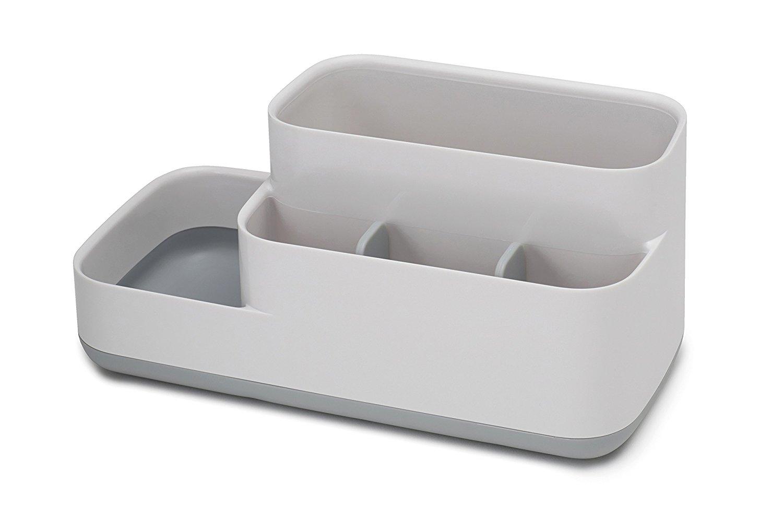 Онлайн каталог PROMENU: Органайзер пластиковый для ванной Joseph Joseph BATHROOM, 24,9х11,9х11,6 см, серый Joseph Joseph 70513