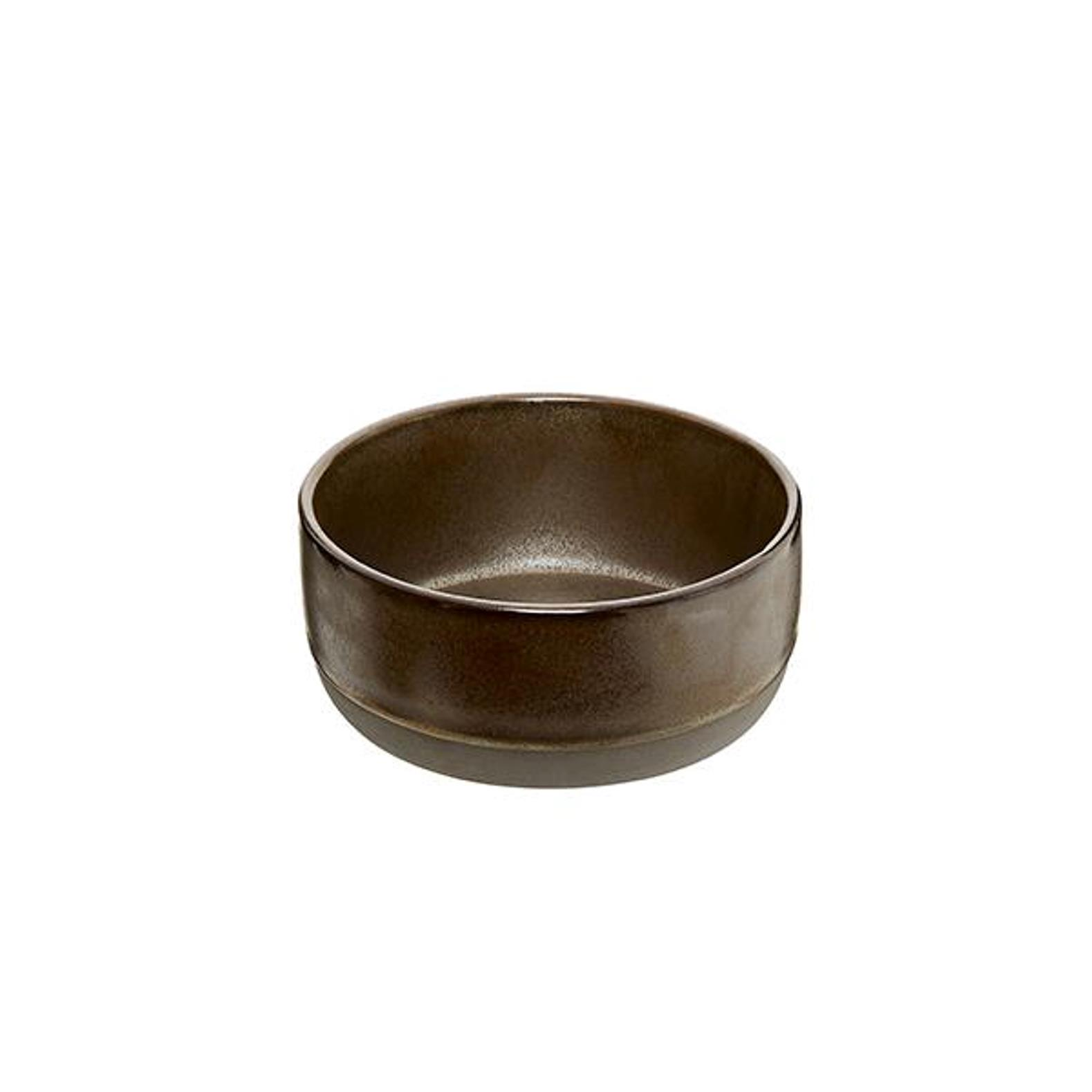 Онлайн каталог PROMENU: Пиала Aida RAW METALLIC BROWN, диаметр 13,5 см, высота 6 см, коричневый                               15563