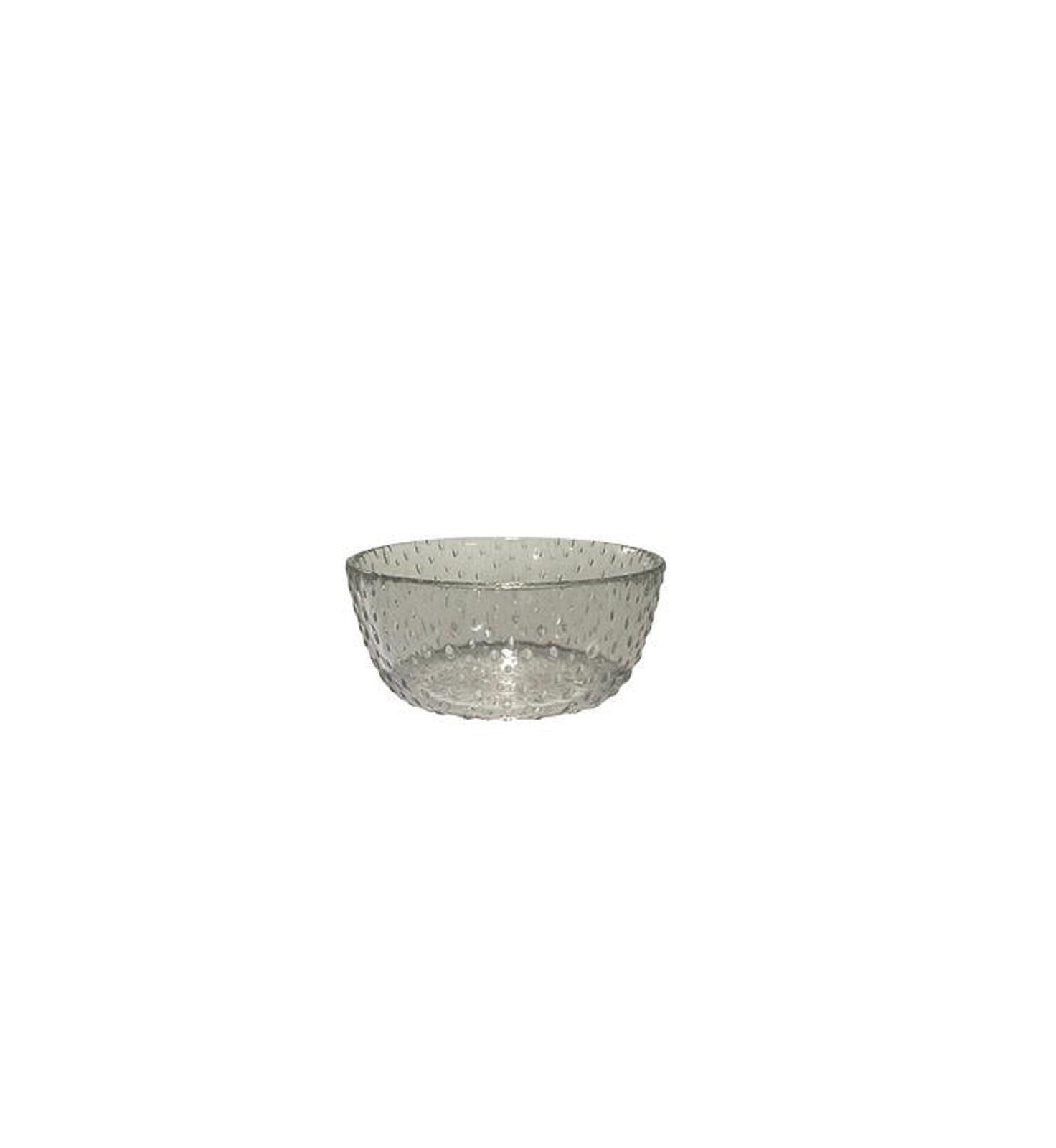 Онлайн каталог PROMENU: Пиала Aida RAW, диаметр 14 см, высота 6 см, прозрачный серый                               15062