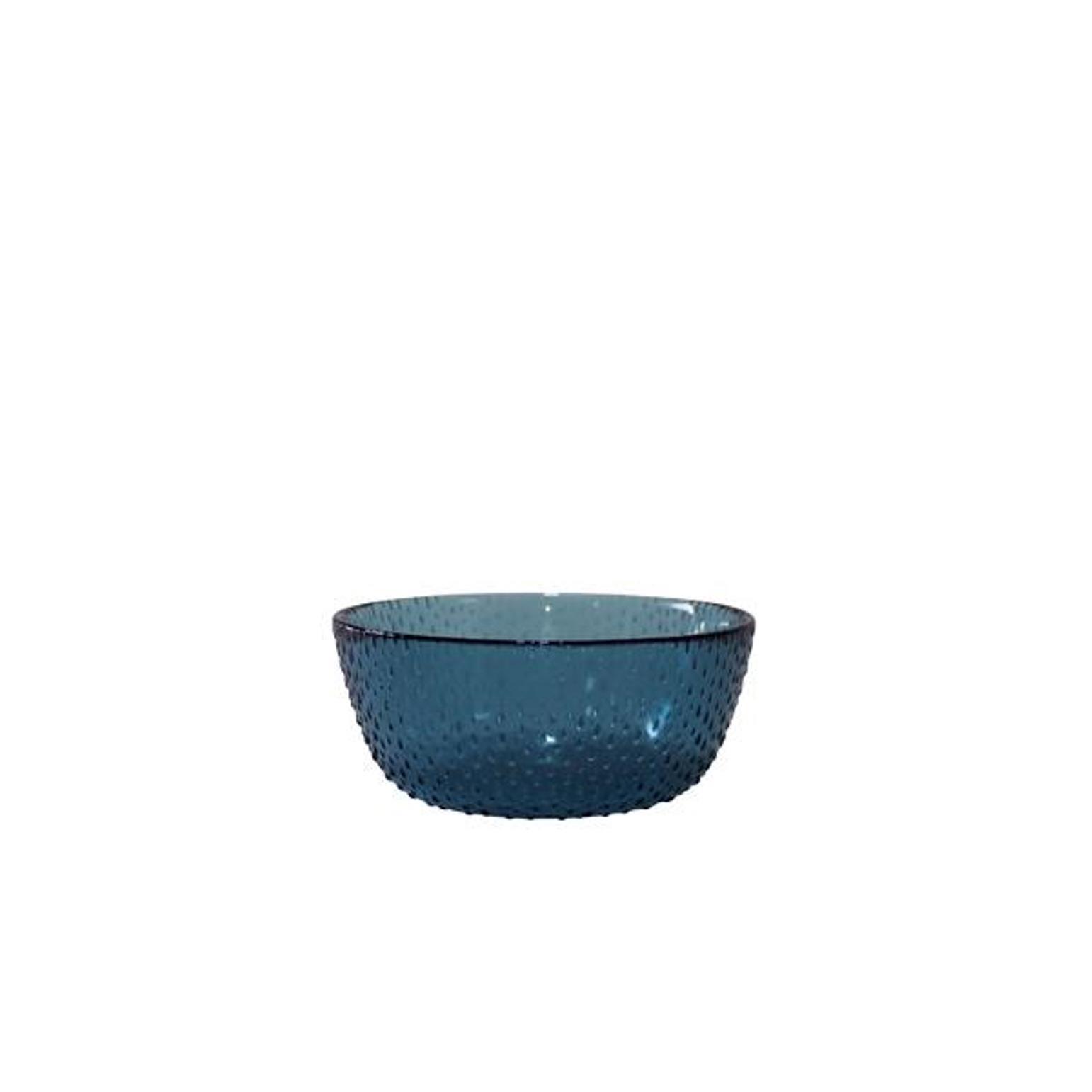 Онлайн каталог PROMENU: Пиала Aida RAW, диаметр 14 см, высота 6 см, прозрачный синий                               15072