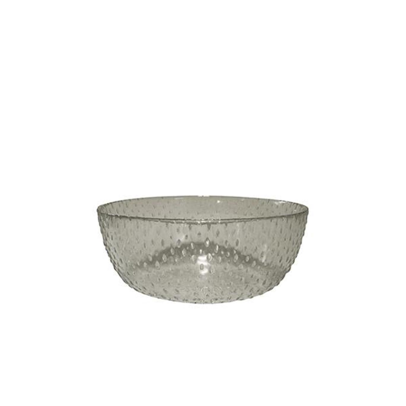 Онлайн каталог PROMENU: Пиала Aida RAW, диаметр 20,5 см, высота 8 см, прозрачный серый                               15065