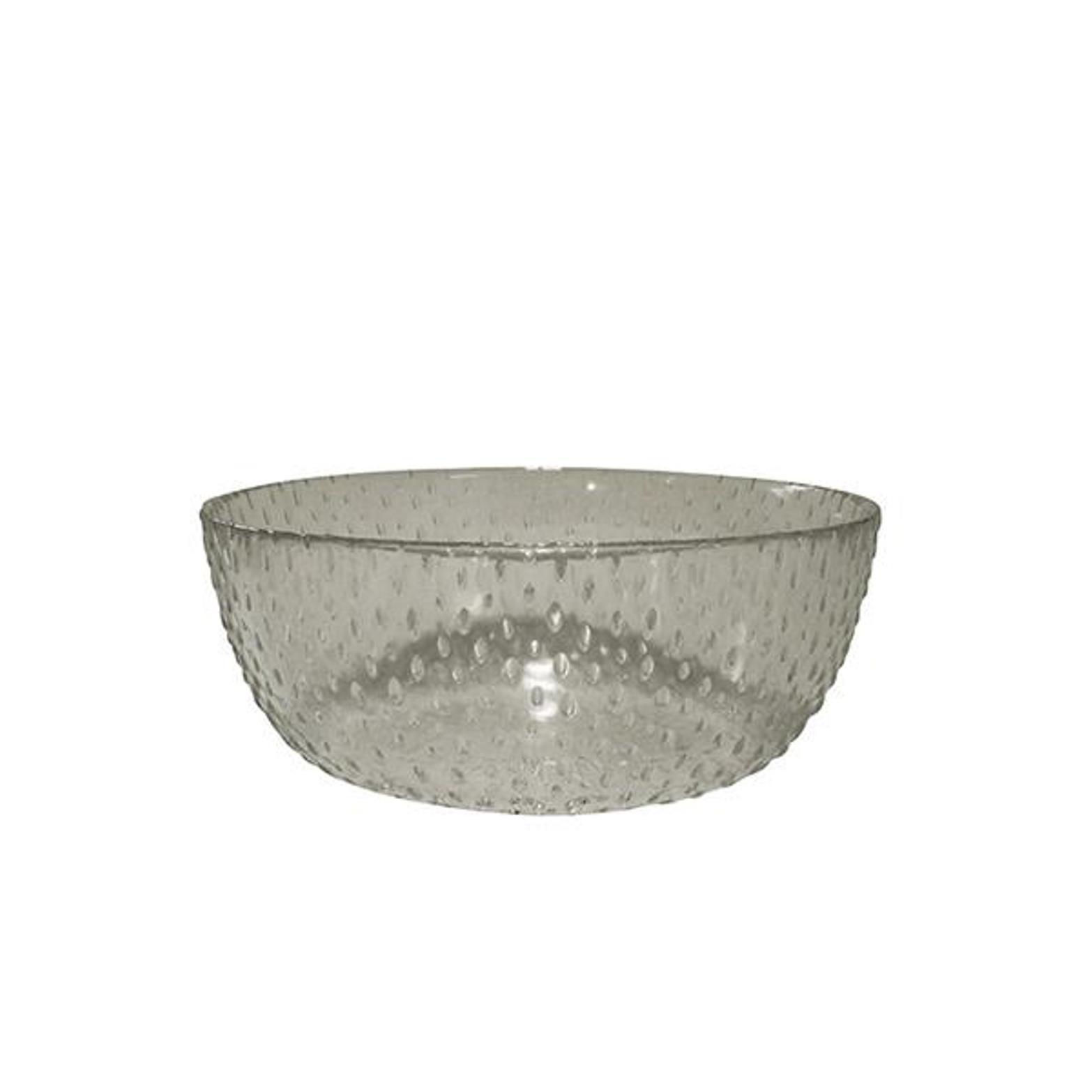 Онлайн каталог PROMENU: Пиала Aida RAW, диаметр 26,5 см, высота 9 см, прозрачный серый                               15066