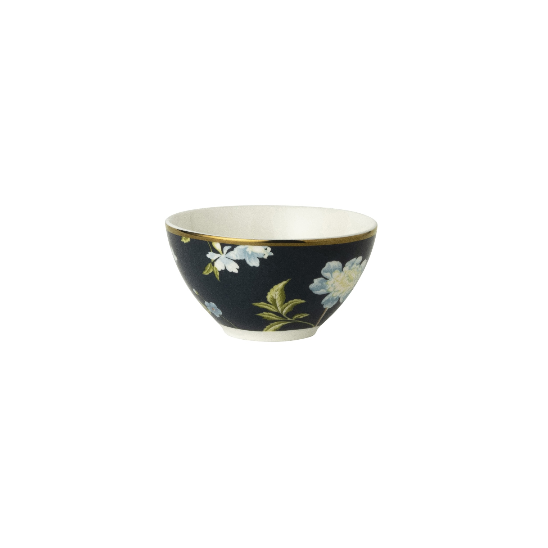 """Онлайн каталог PROMENU: Пиала """"Цветы"""" Laura Ashley HERITAGE, диаметр 9 см, темно-синий с цветами                               180463"""