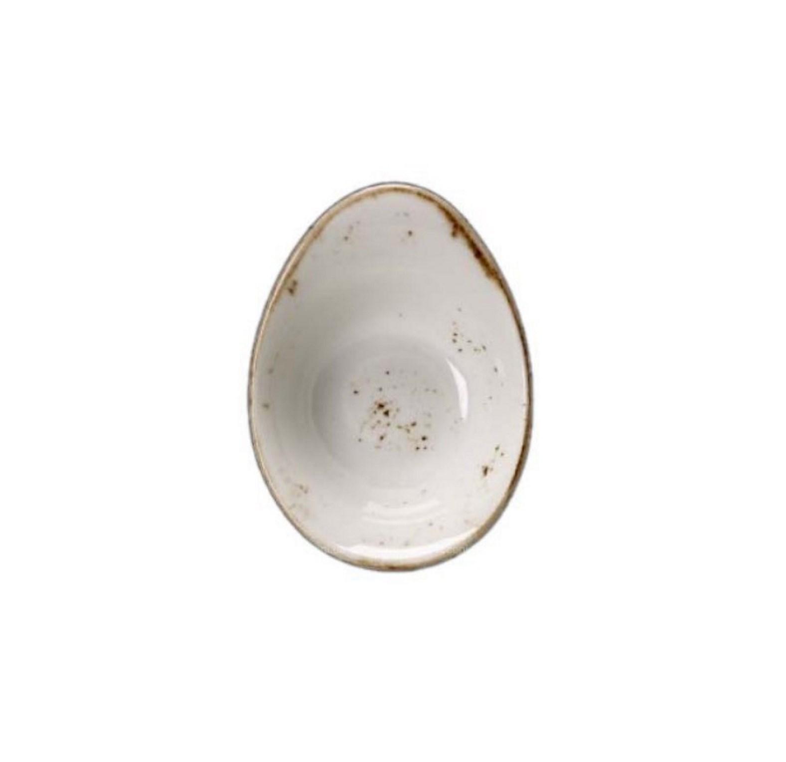 Онлайн каталог PROMENU: Пиала фарфоровая ассиметричная Steelite CRAFT WHITE, диаметр 13 см, белая