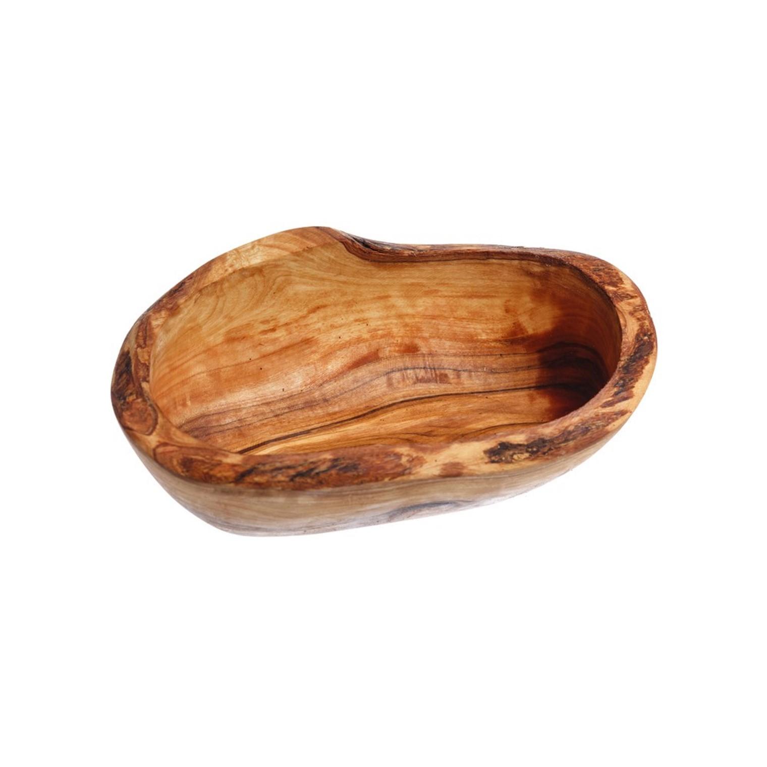 Онлайн каталог PROMENU: Пиала сервировочная для продуктов Just Slate, дерево, длина 14 см, бежевый                               NM/OL142