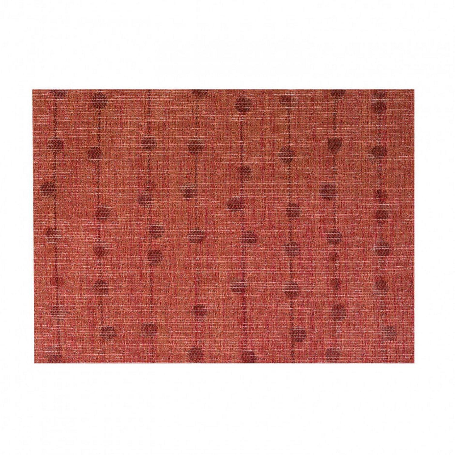 Онлайн каталог PROMENU: Подставка под тарелку Winkler BUBBLE, 33х45 см, красный                               8682 030 000