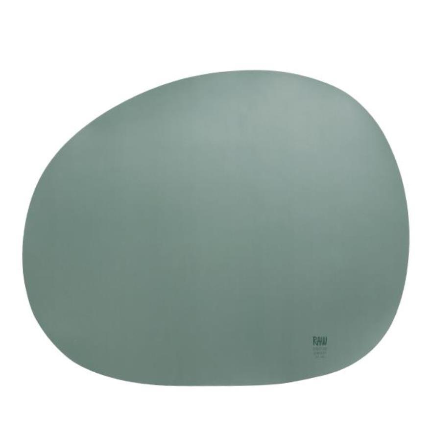 Онлайн каталог PROMENU: Подставка силиконовая под тарелку Aida RAW, 41х33,5 см, зеленая                                   15445