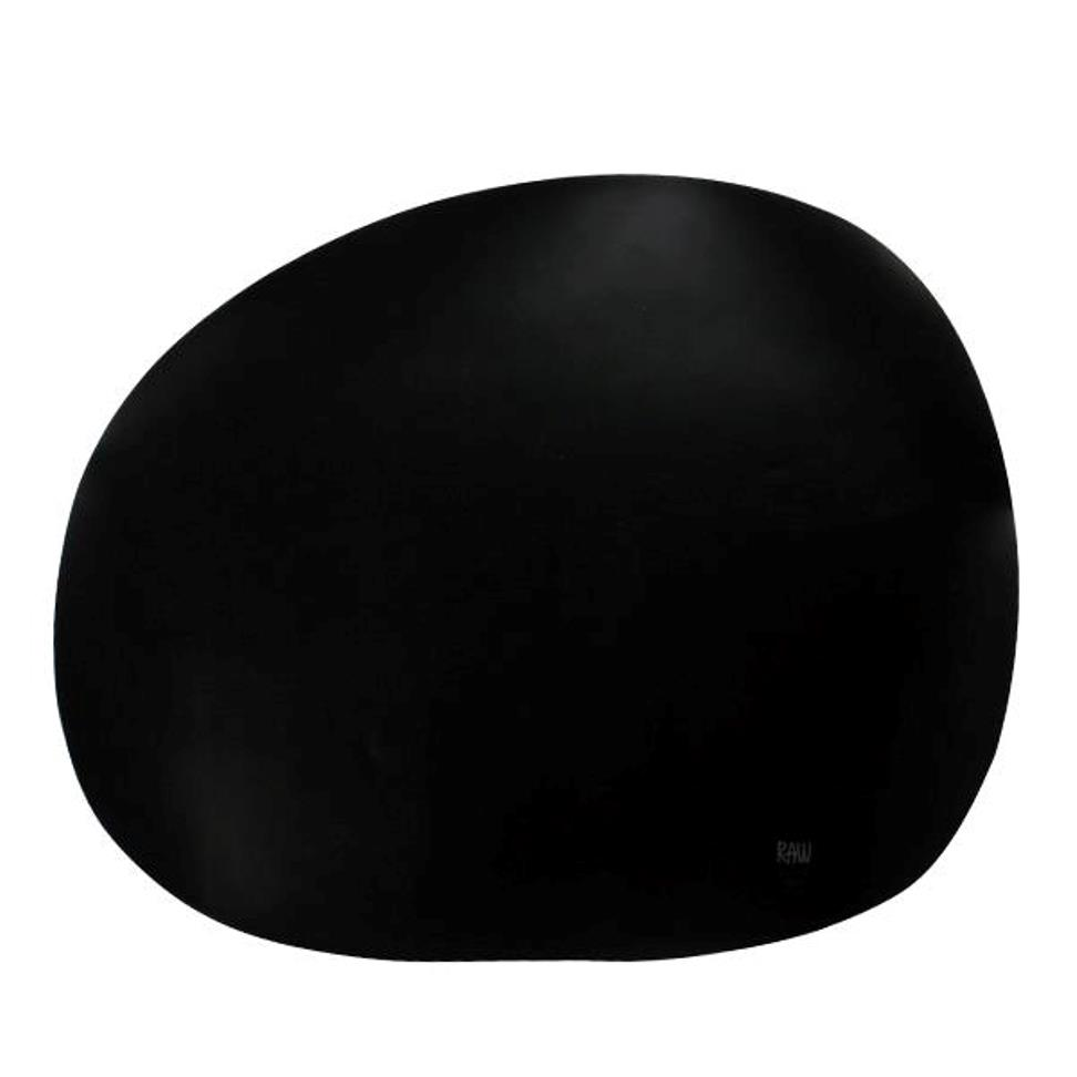 Онлайн каталог PROMENU: Подставка силиконовая под тарелку Aida RAW, 41х33,5 см, черная                                   15440