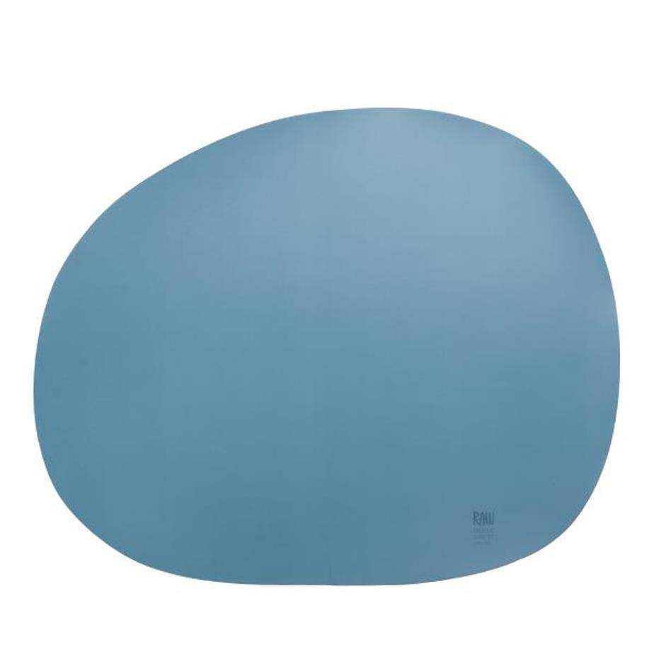 Онлайн каталог PROMENU: Подставка силиконовая под тарелку Aida RAW, 41х33,5 см, голубая                                   15444