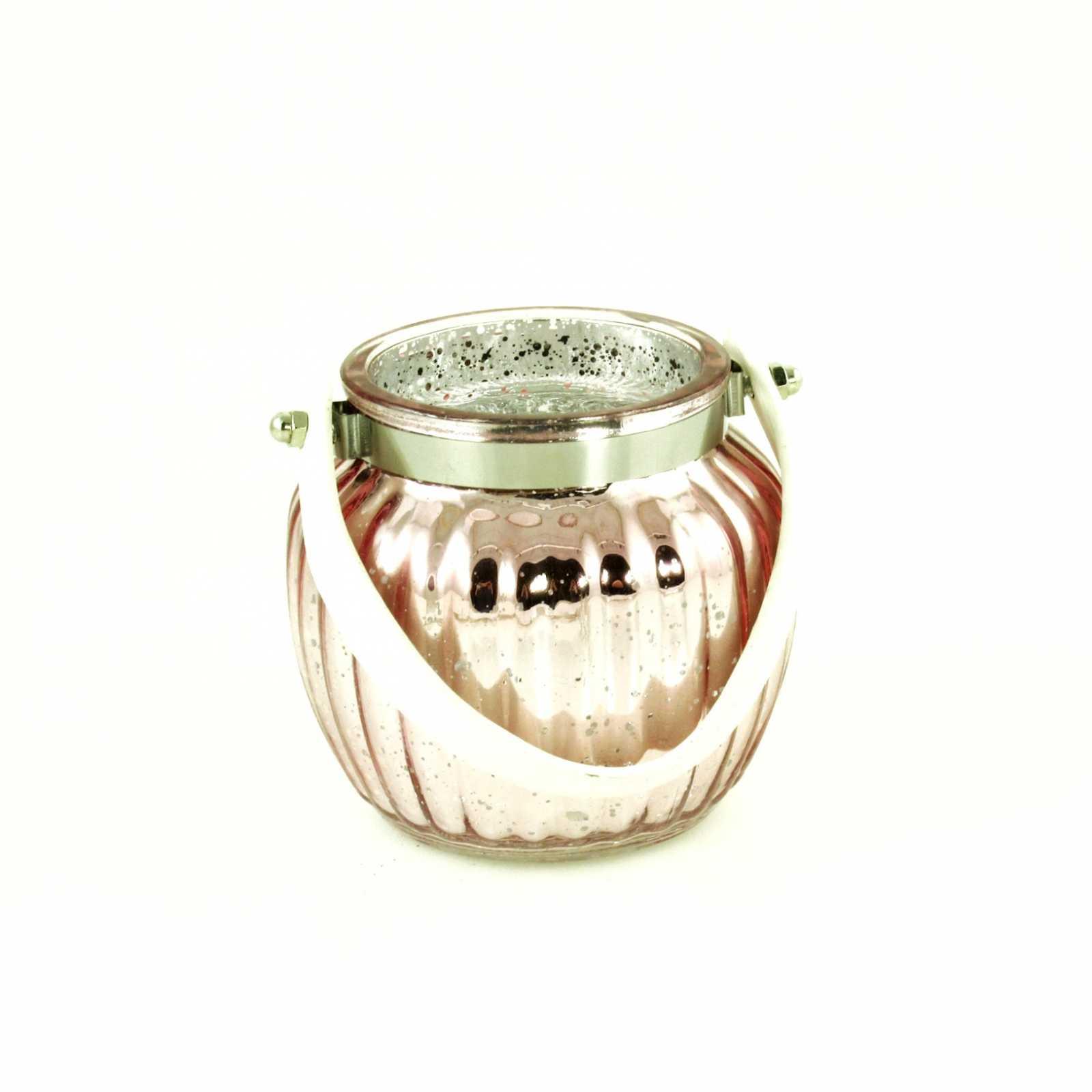 Онлайн каталог PROMENU: Подсвечник Goldbach, 11,5х11,5х10,5 см, розовый Goldbach 63 6554