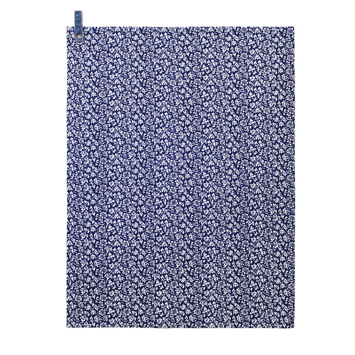 Онлайн каталог PROMENU: Полотенце кухонное Laura Ashley BLUEPRINT, 50х70 см, синий в белый цветочек                                   178126