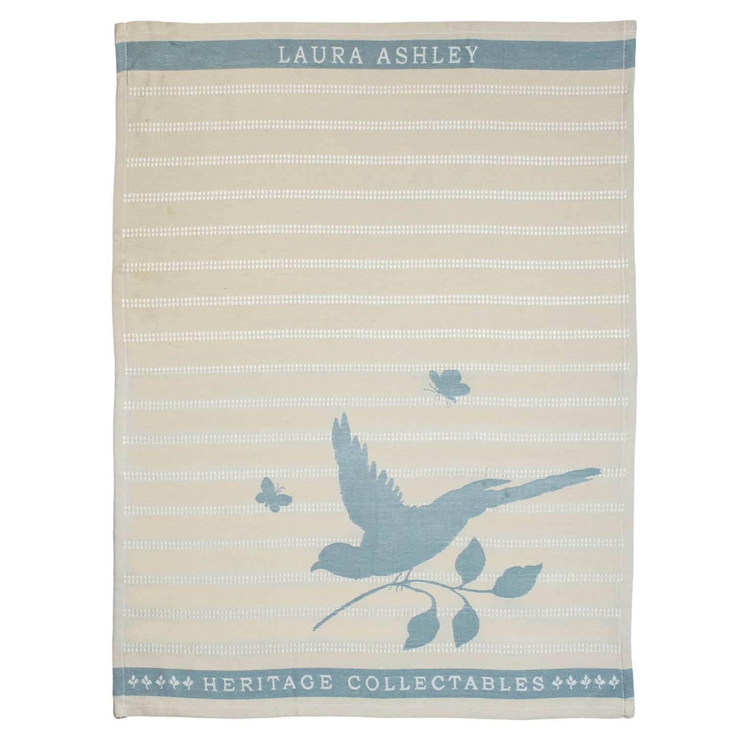 """Онлайн каталог PROMENU: Полотенце кухонное """"Птичка"""" Laura Ashley HERITAGE, 50х70 см, хлопок, серый                               180801"""