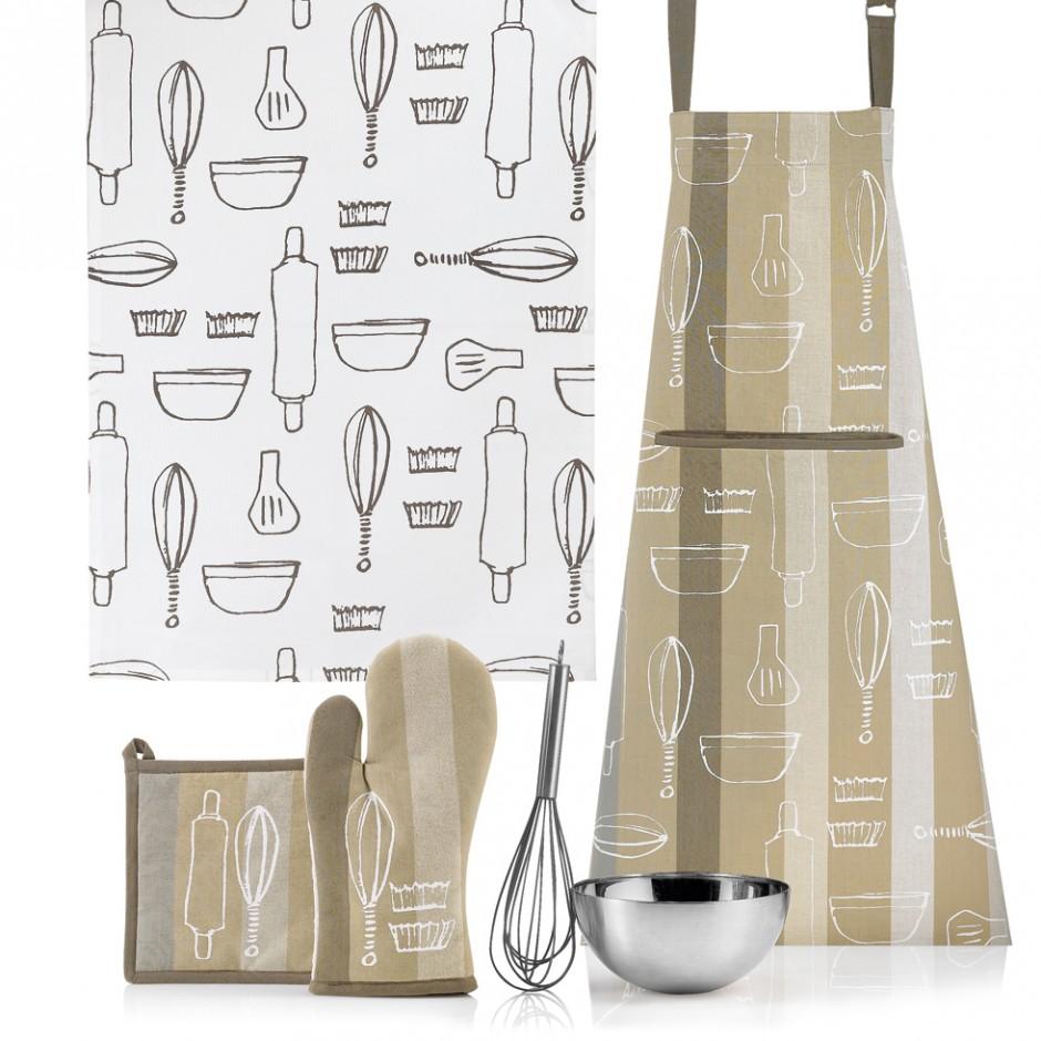 Полотенце кухонное Winkler FANTASY NATURAL, 50х70 см, белый с рисунком Winkler 4628080000 фото 1