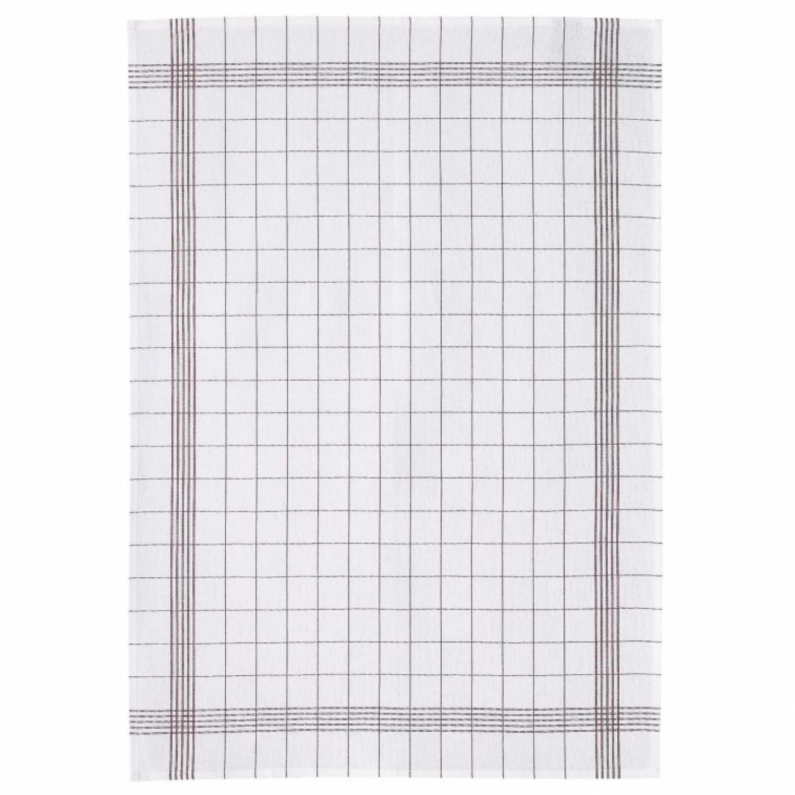 Онлайн каталог PROMENU: Полотенце кухонное Winkler TECHNIQUE, 55х75 см, белый в темно-серую клетку Winkler 7327087000