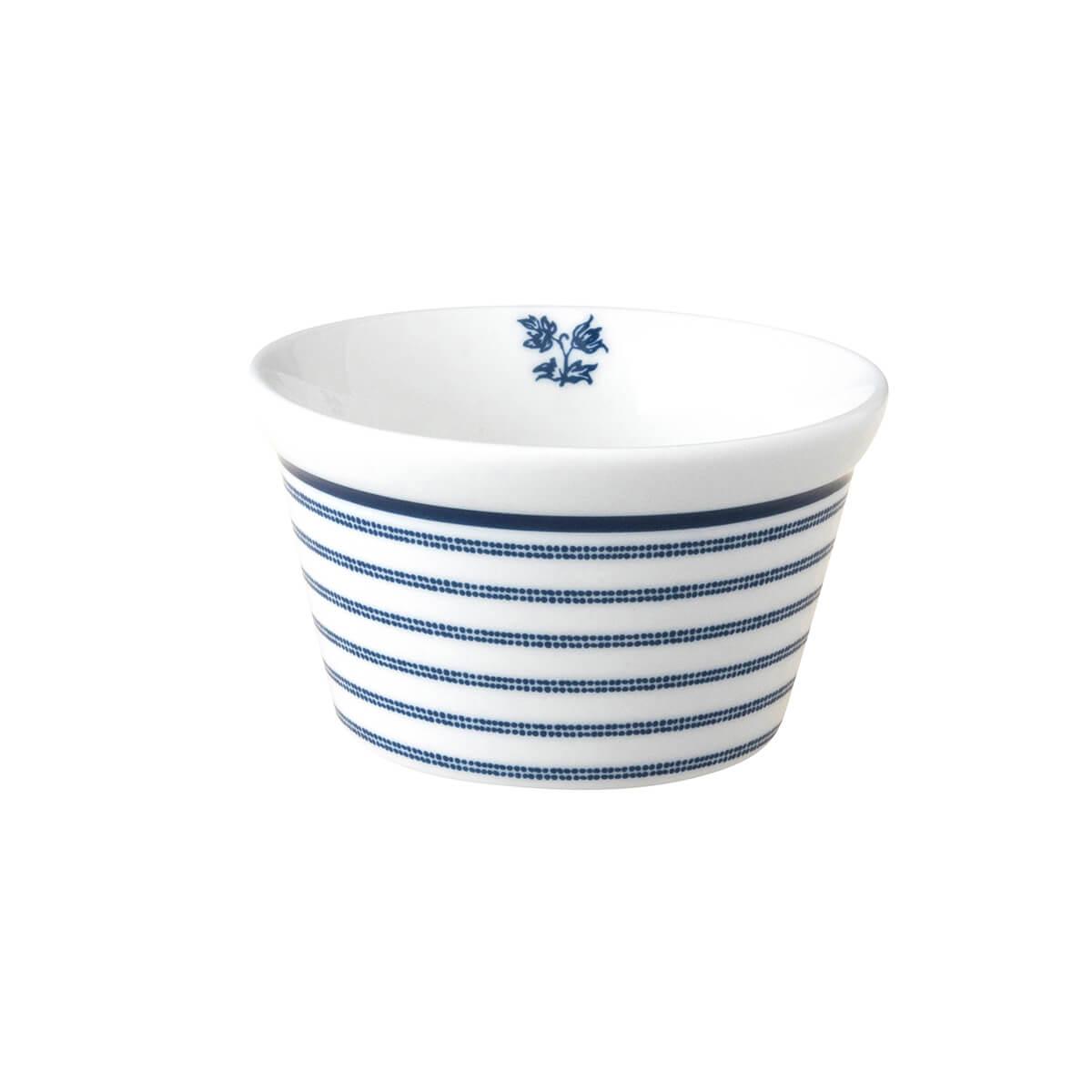 Онлайн каталог PROMENU: Форма порционная фарфоровая Laura Ashley BLUEPRINT, 9 см, белый в синюю полоску                                   179362