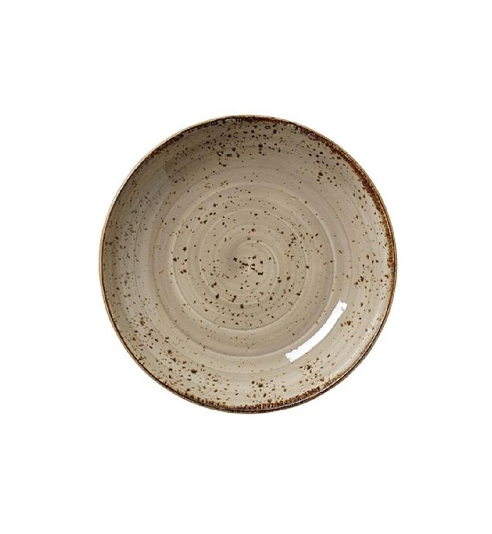 Онлайн каталог PROMENU: Пиала фарфоровая Steelite CRAFT PORCINI, диаметр 21,5 см, бежевый