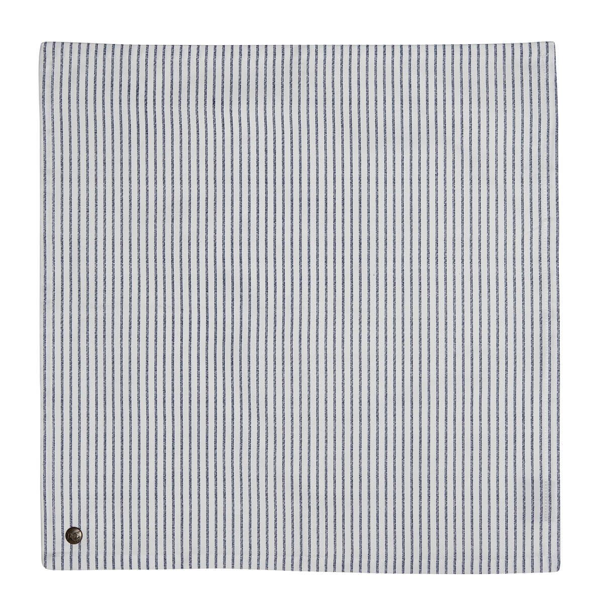 Онлайн каталог PROMENU: Тканевая салфетка Laura Ashley BLUEPRINT, 45х45 см, белый в синюю полоску Laura Ashley 178443