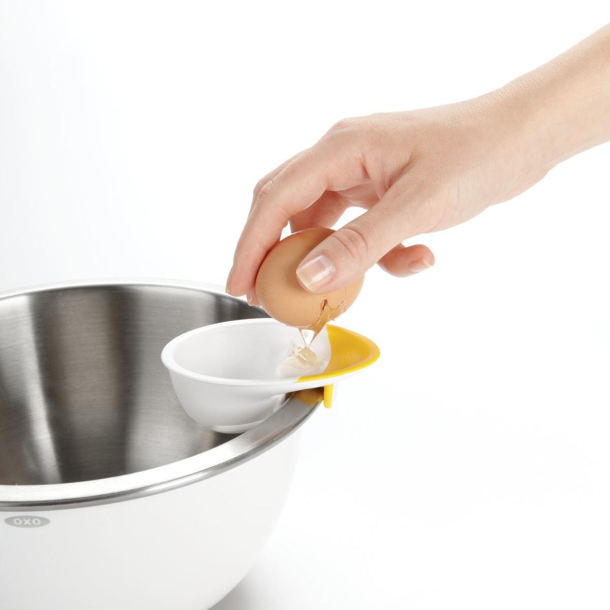Сепаратор для яиц OXO COOKING UTENSILS, 4х12х22 см, белый OXO 1147780 фото 5