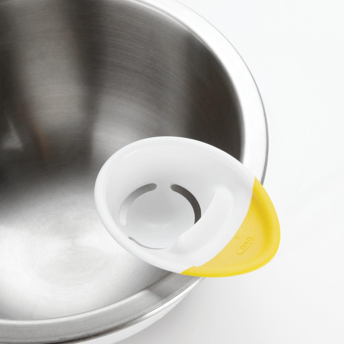 Сепаратор для яиц OXO COOKING UTENSILS, 4х12х22 см, белый OXO 1147780 фото 1