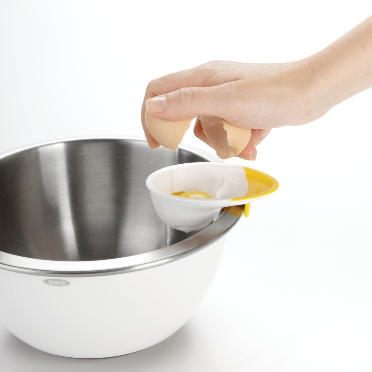 Сепаратор для яиц OXO COOKING UTENSILS, 4х12х22 см, белый OXO 1147780 фото 7