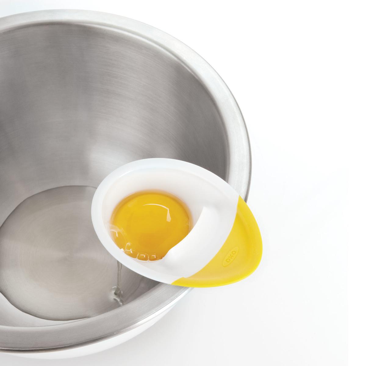 Сепаратор для яиц OXO COOKING UTENSILS, 4х12х22 см, белый OXO 1147780 фото 9