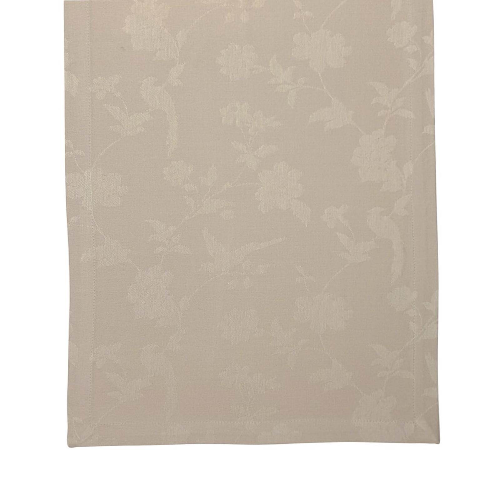 Онлайн каталог PROMENU: Скатерть Laura Ashley HERITAGE, 40х150 см, бежевый с цветами и птичками                               181000