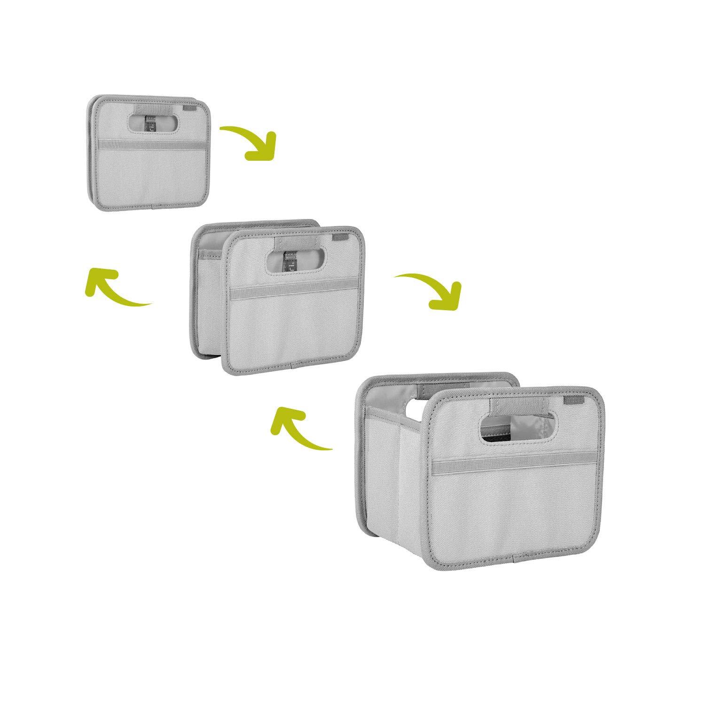 Складной короб для хранения, размер мини Meori CLASSIC Palm Taupe, 16,5x14x12,5 см, серый с совенком Meori A100716 фото 2