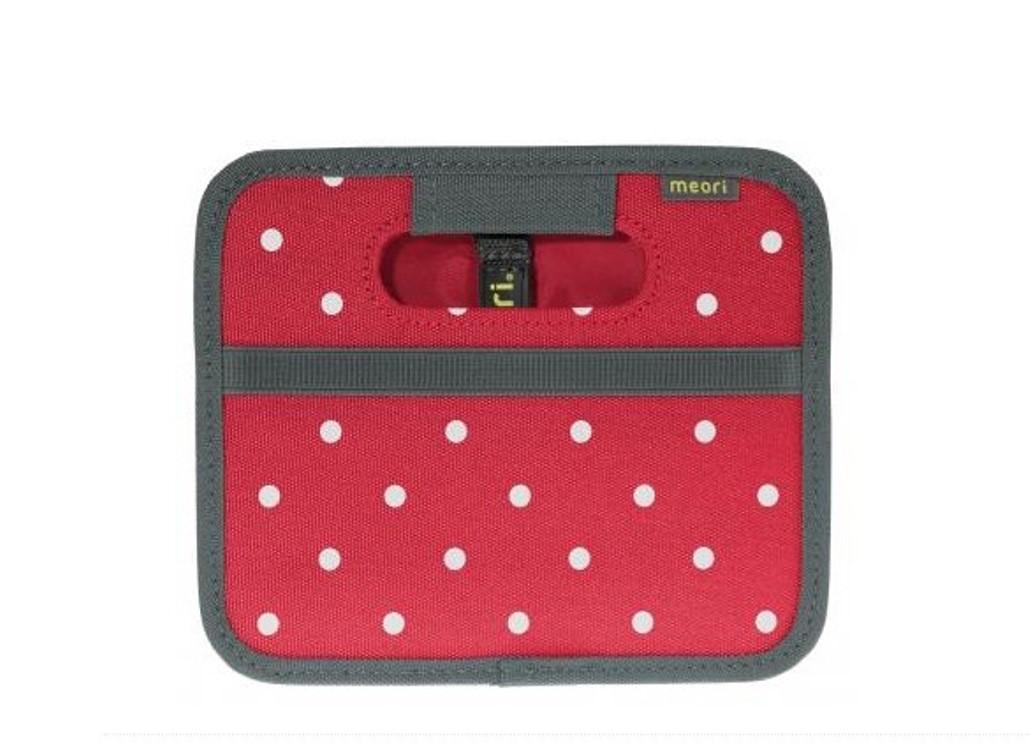 Складной короб для хранения, размер мини Meori CLASSIC Red Dots, 16,5x14x12,5 см, красный в белую точку Meori A100301 фото 1
