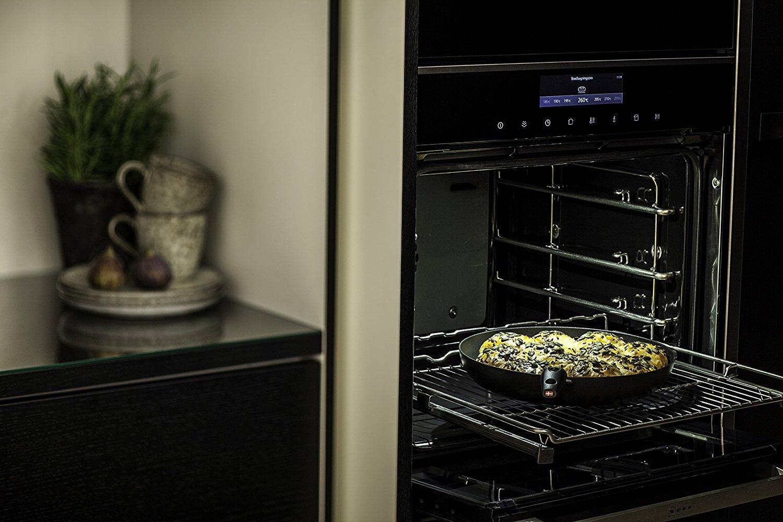 Сковорода с антипригарным покрытием Scanpan IQ, диаметр 28 см, черный Scanpan 64002803 фото 4