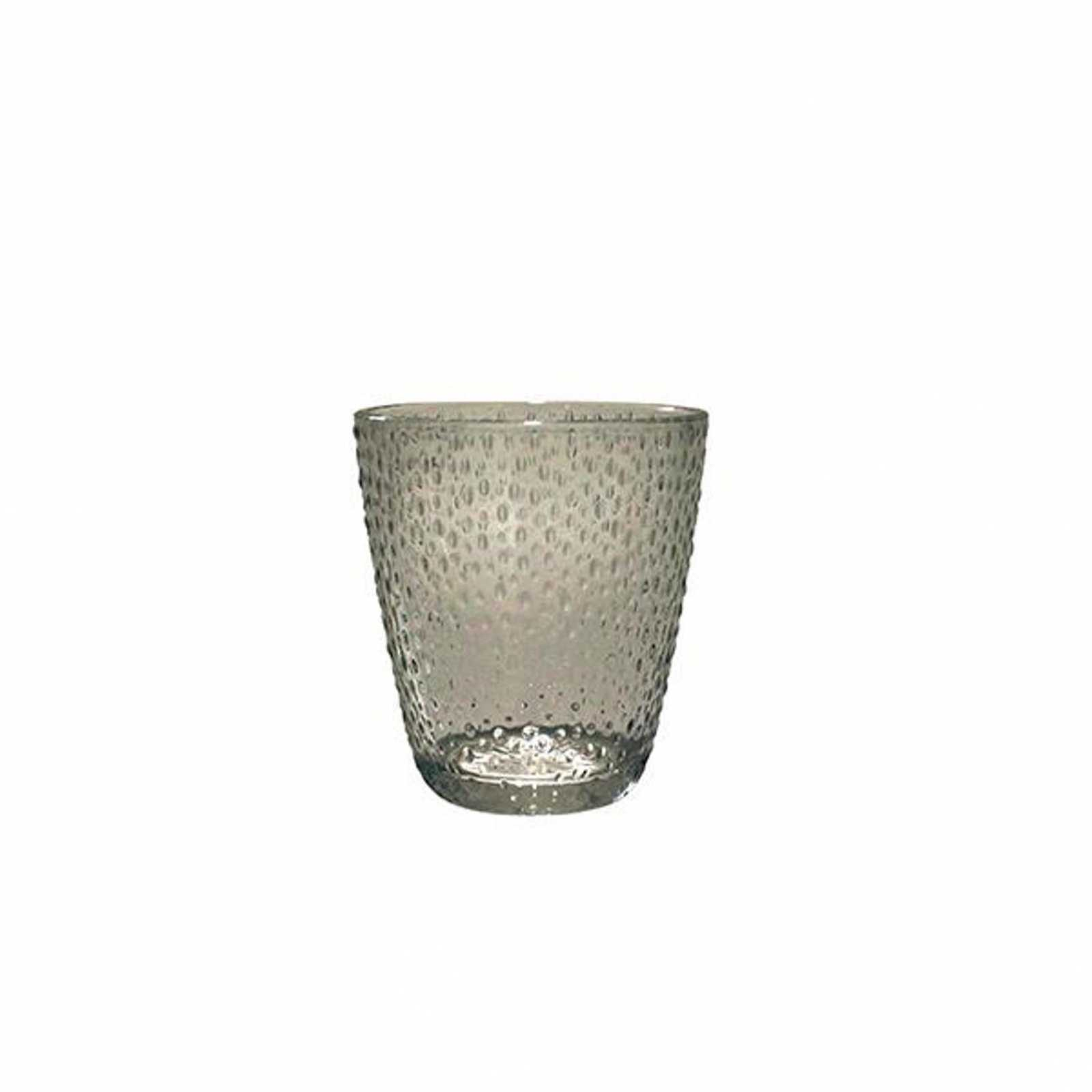 Онлайн каталог PROMENU: Стакан Aida RAW, объем 0,3 л, диаметр 9,4 см, высота 10,4 см, прозрачный серый Aida 15067