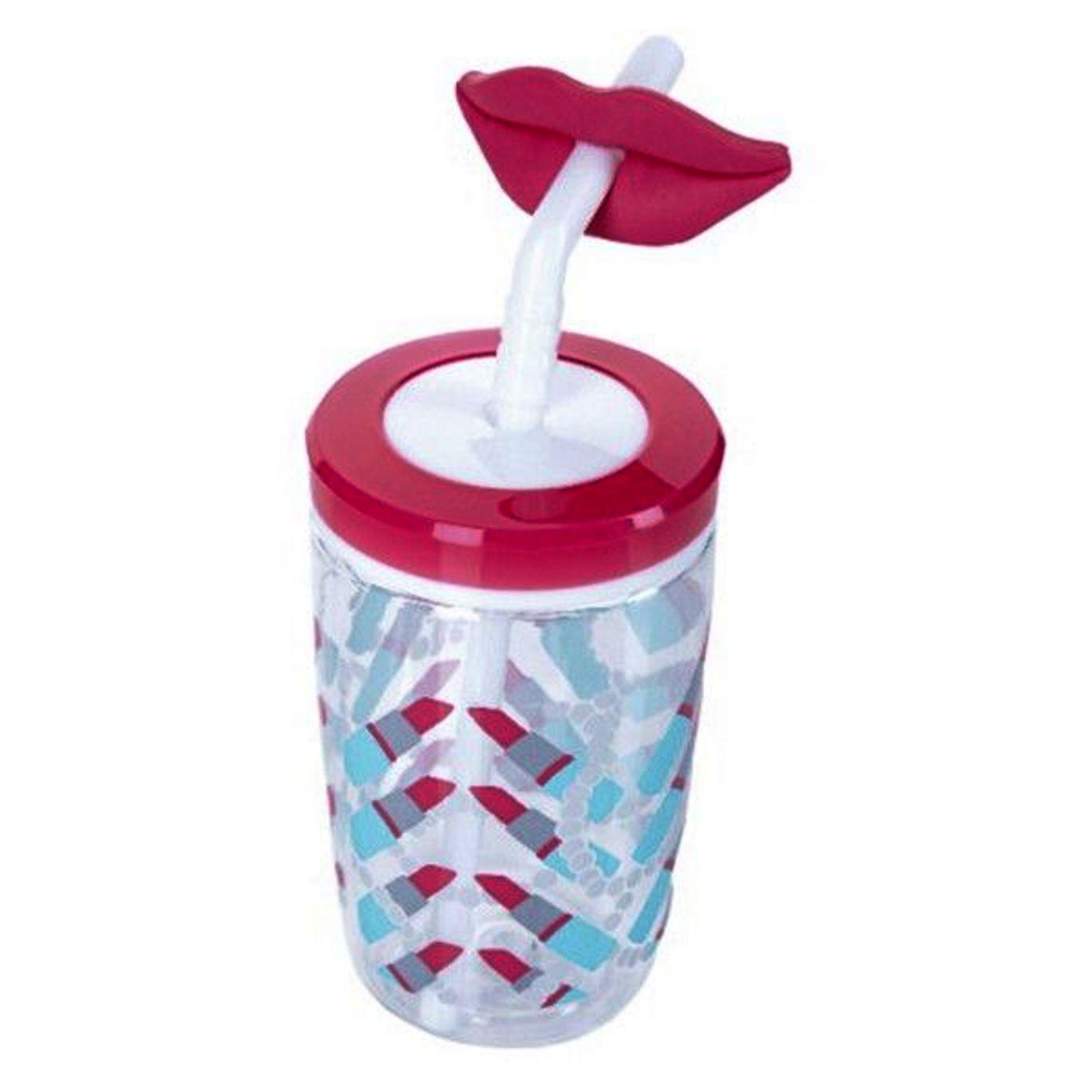Онлайн каталог PROMENU: Бутылка детская с трубочкой Contigo FUNNY STRAW,, объем 0,47 л, розовый Contigo 2094992