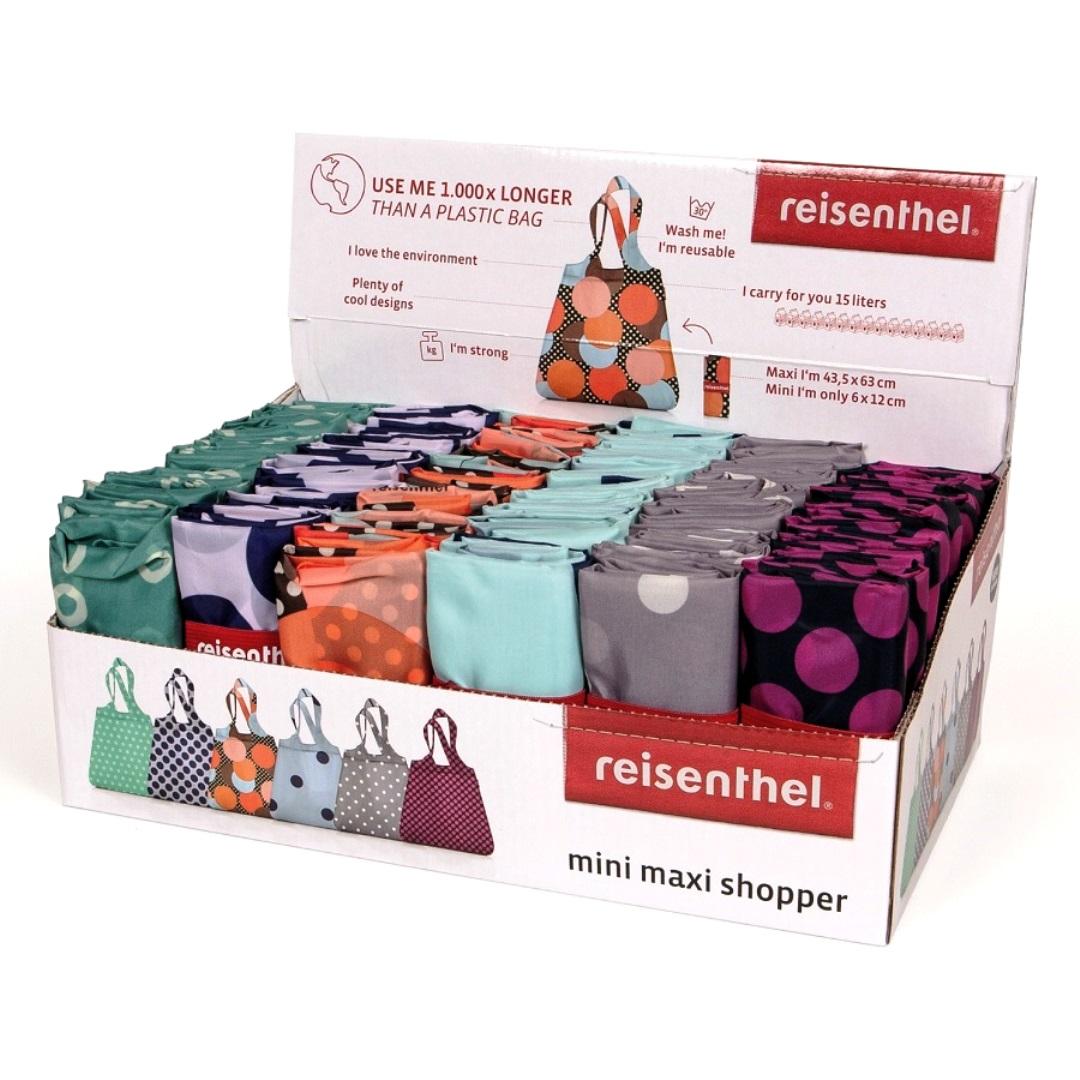 Онлайн каталог PROMENU: Сумка для шоппинга Reisenthel spring mini maxi shopper, объем 15 л, цвет в ассортименте                               AT 0023