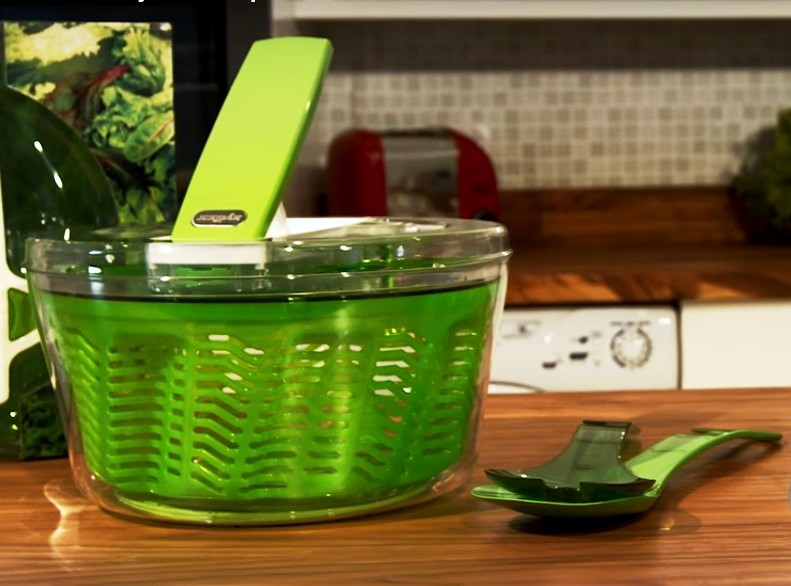 Сушка для зелени Zyliss Smart Touch 20x20x14 см, зеленая Zyliss E940007 фото 2