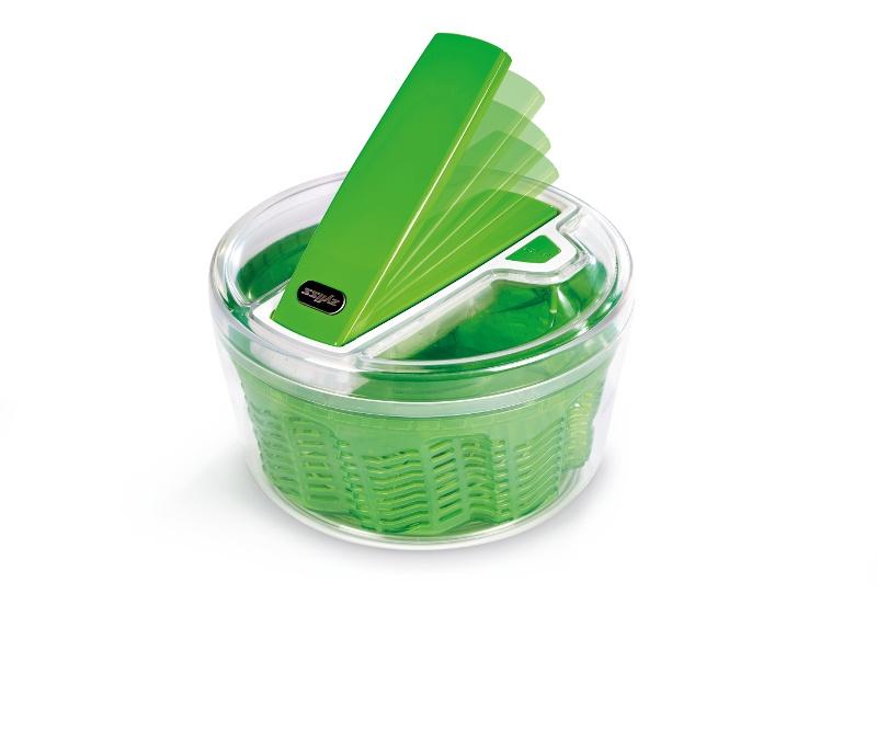 Сушка для зелени Zyliss Smart Touch 20x20x14 см, зеленая Zyliss E940007 фото 10