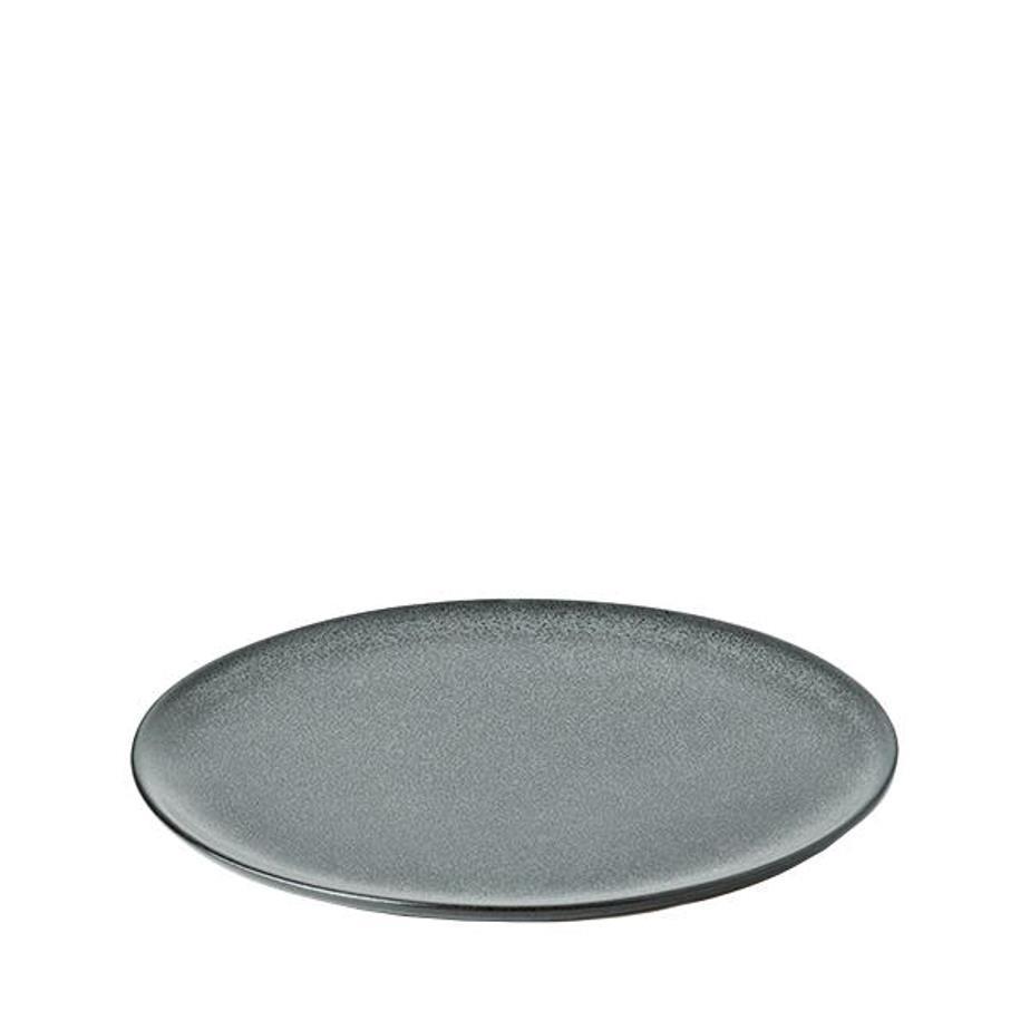 Онлайн каталог PROMENU: Тарелка десертная керамическая Aida RAW, диаметр 20 см, темно-зеленая Aida 15710