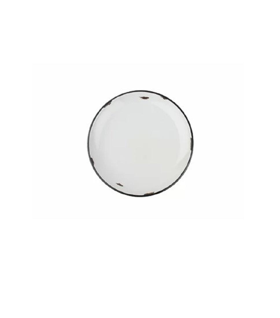 Онлайн каталог PROMENU: Тарелка с черной окантовкой Canvas Home Tinware, диаметр 20 см, голубой                               C28-SP-CB