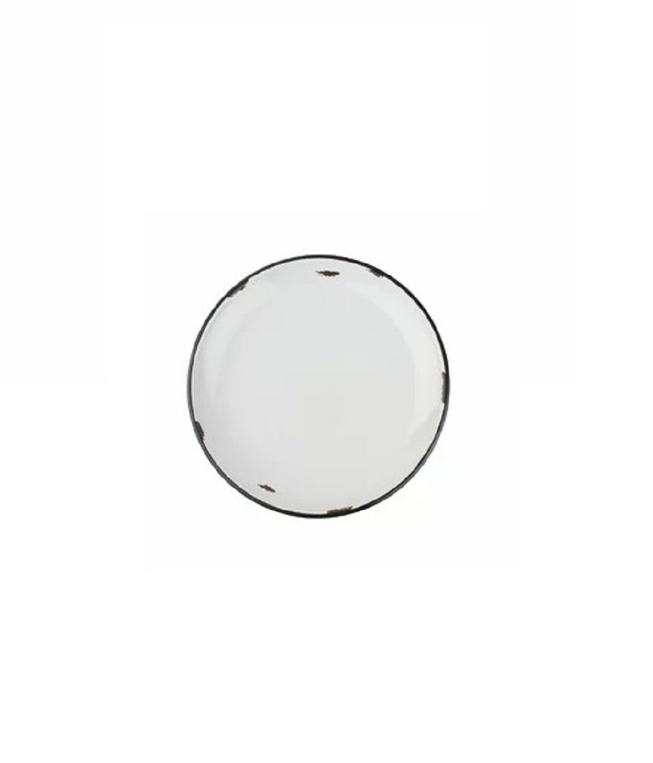 Онлайн каталог PROMENU: Тарелка с черной окантовкой Canvas Home Tinware, диаметр 20 см, красный                               C28-SP-RD