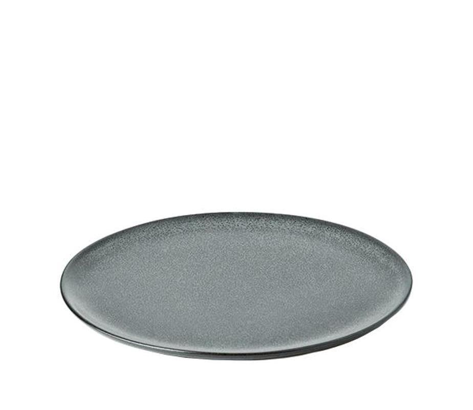 Онлайн каталог PROMENU: Тарелка обеденная керамическая Aida RAW, диаметр 23 см, темно-зеленая                               15711