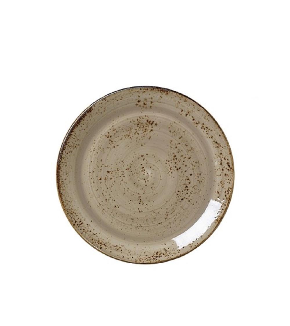 Онлайн каталог PROMENU: Тарелка круглая фарфоровая Steelite CRAFT PORCINI, 25,3 см, бежевый