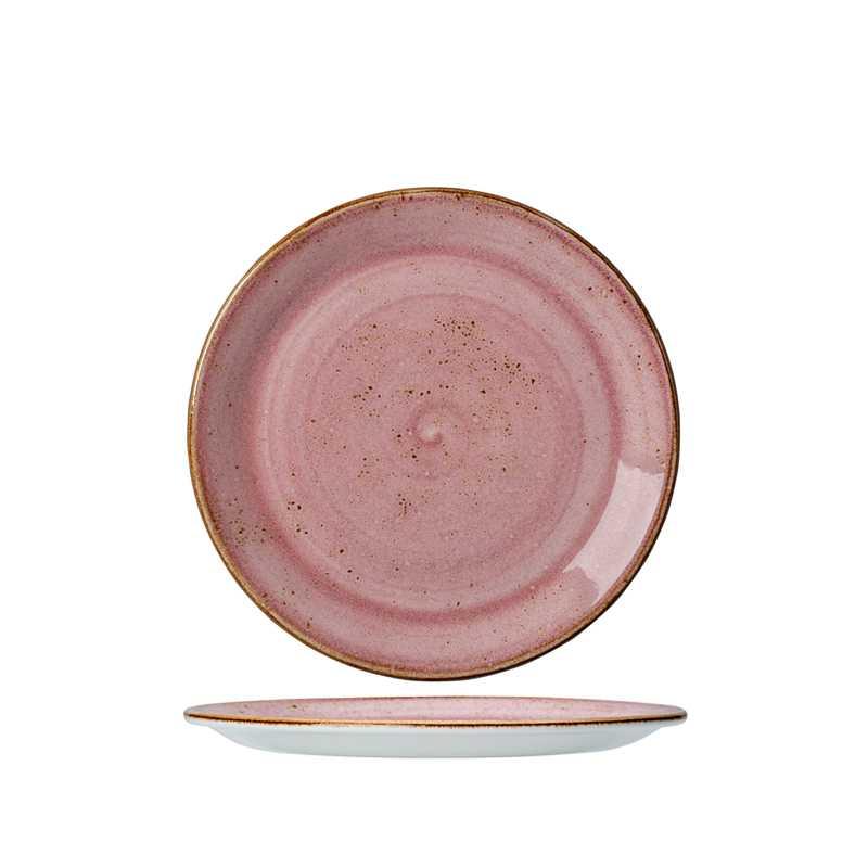 Онлайн каталог PROMENU: Тарелка фарфоровая Steelite CRAFT RASPBERRY, диаметр 25,5 см, розовый