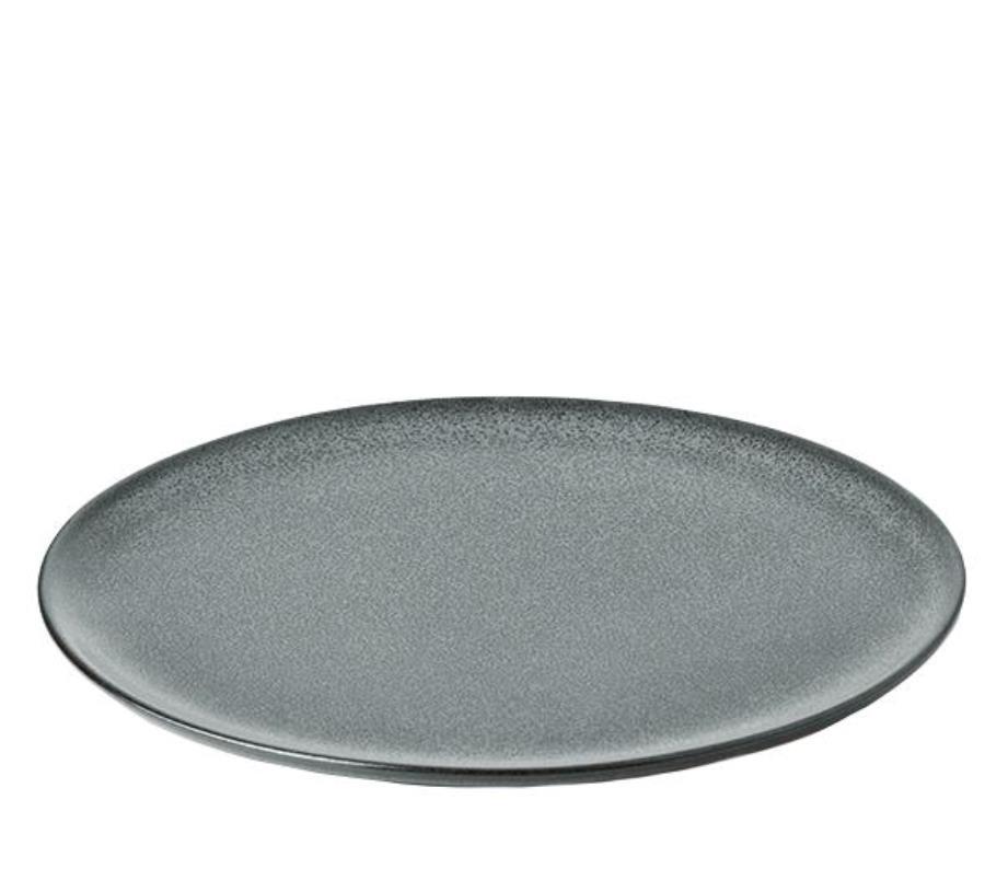 Онлайн каталог PROMENU: Тарелка подстановочная/сервировочная керамическая Aida RAW, диаметр 28 см, темно-зеленая Aida 15712